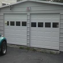 Stahl + Isolierung + Stahl Innenraum Garage Türverkleidungen