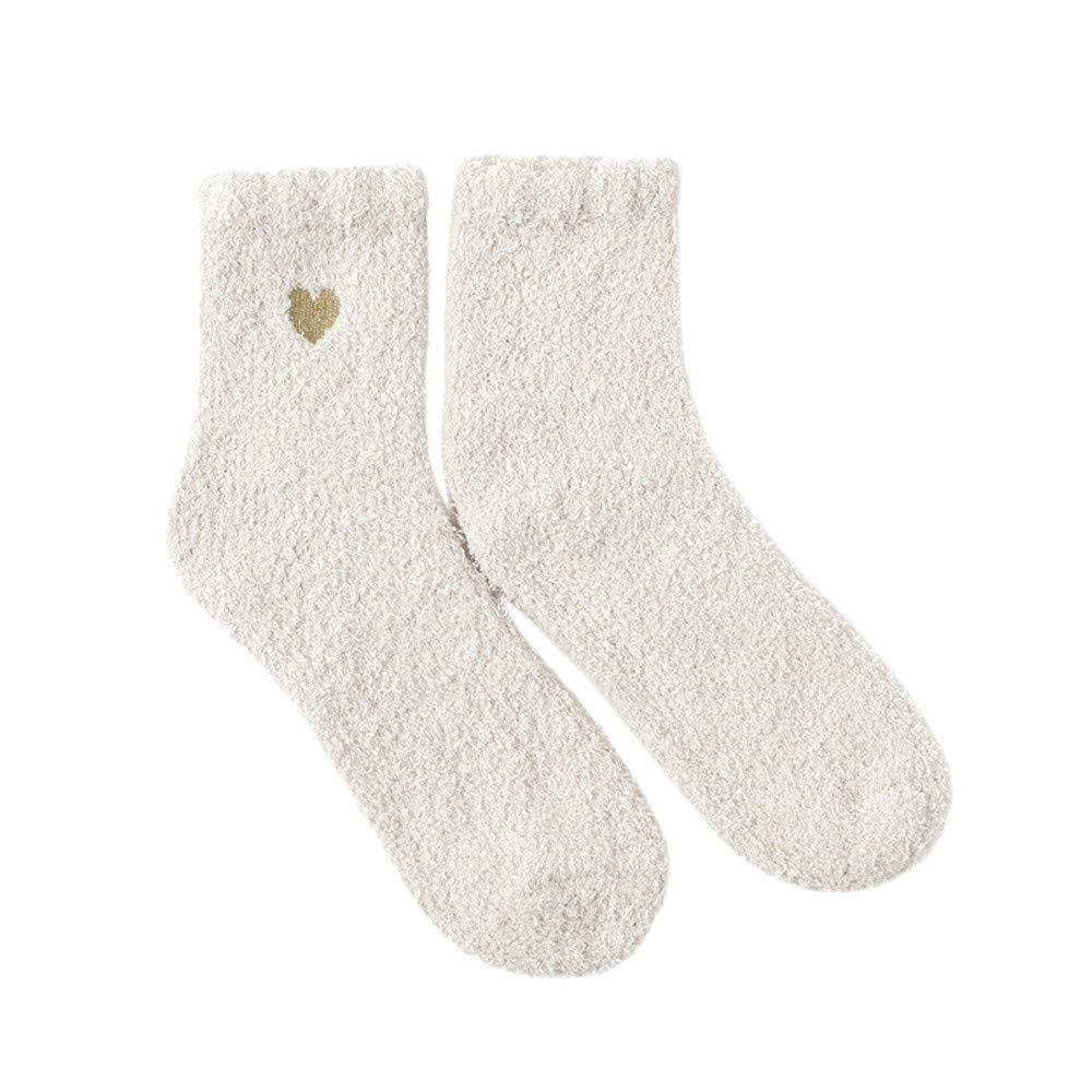 54a43938c4e Get Quotations · SUKEQ Women s Winter Fuzzy Socks