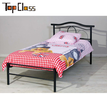 Zd052 Kid Room Used Fast Delivery Welcome Furniture For Wholes High Quality Kids Iron Bed