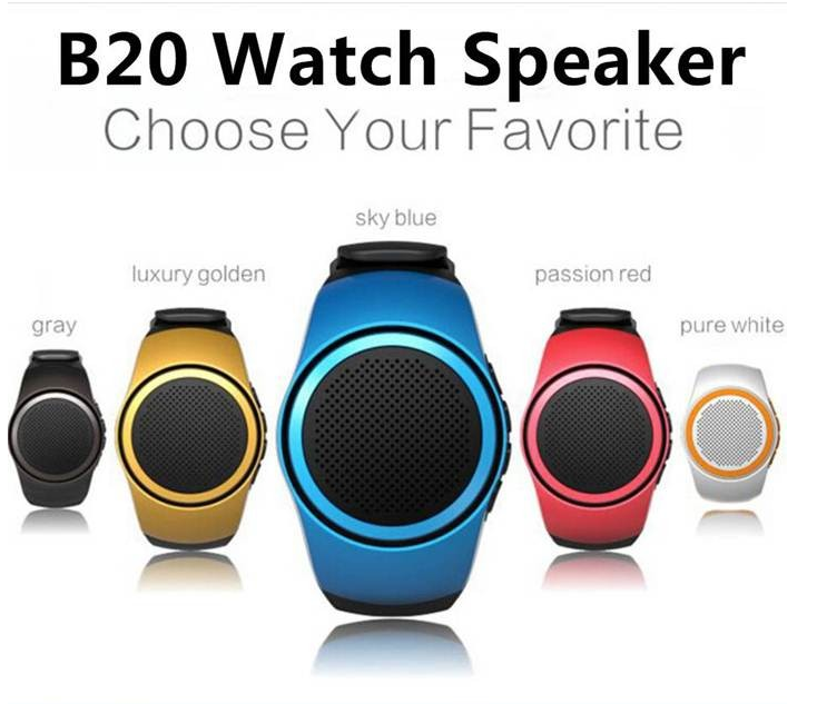 Wholesales Outdoor smart watch stereo bluetooth speaker , portable mini bluetooth speaker