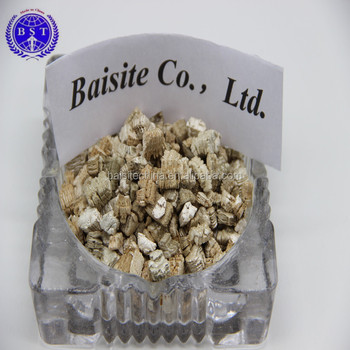 1-2mm Raw/crude Unexpanded Xinjiang Silver Vermiculite Flakes
