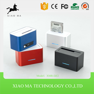 high quality usb3.0 sata dual hdd docking station XMR-DZ2