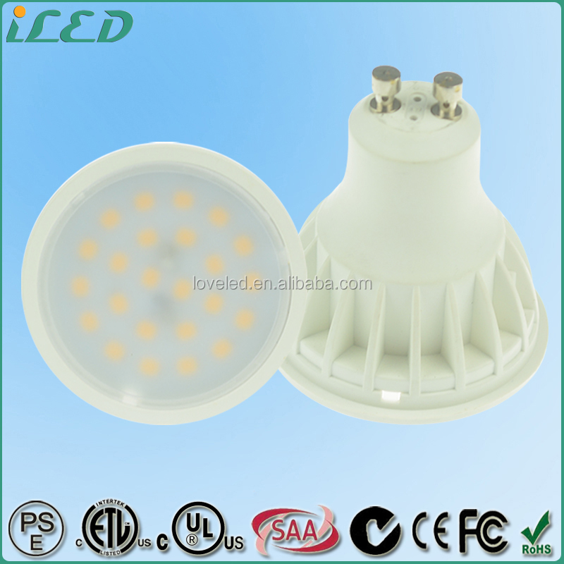 400lm 2835 SDM LED Light Bulb 5W 230V Wide Flood Lamp 3000K Dimmable GU10 Mini LED for Home