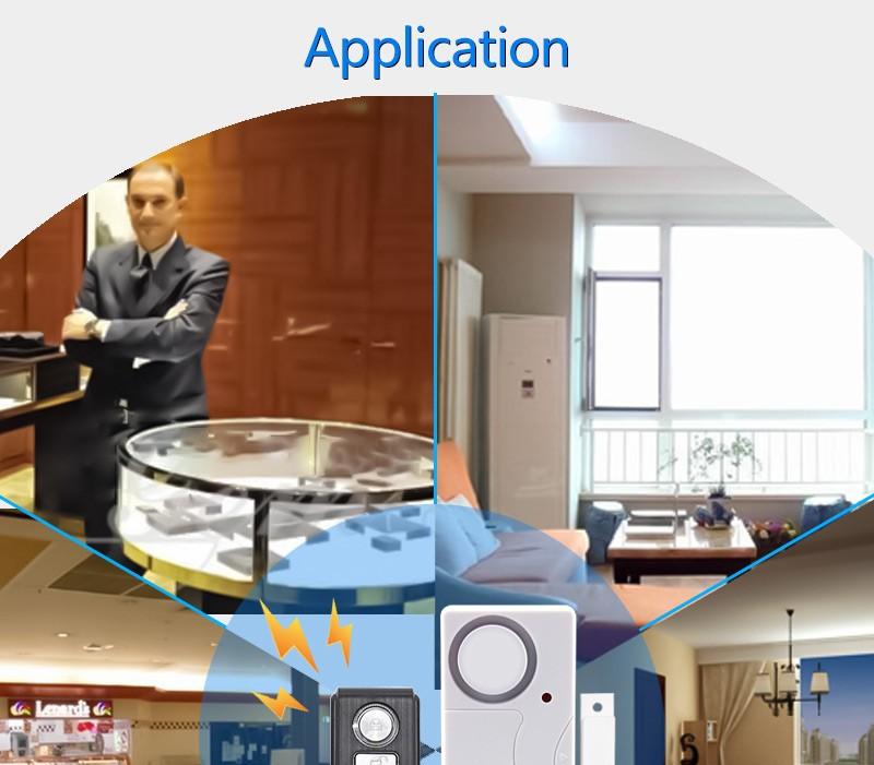 Двери, окна пульт дистанционного управления умный дом охранной сигнализации предупреждение системы с магнитный датчик сигнализации беспроводной сирены тревоги детектора