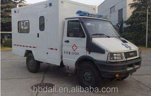 IVECO 4WD box type emergency ambulance van for sale 4x4