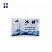 custom printed ice cube plastic ice packs