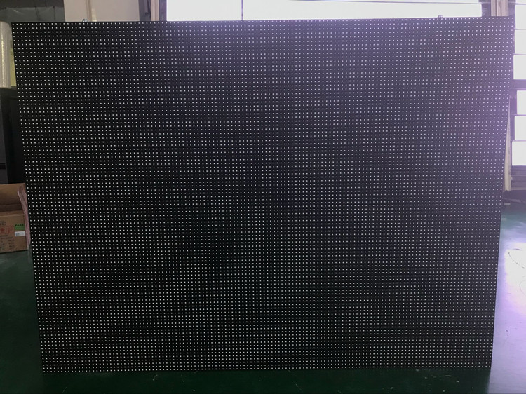 P10 Curvatura schermo video LED/LED video wall/tenda morbida flessibile ha portato cartellone