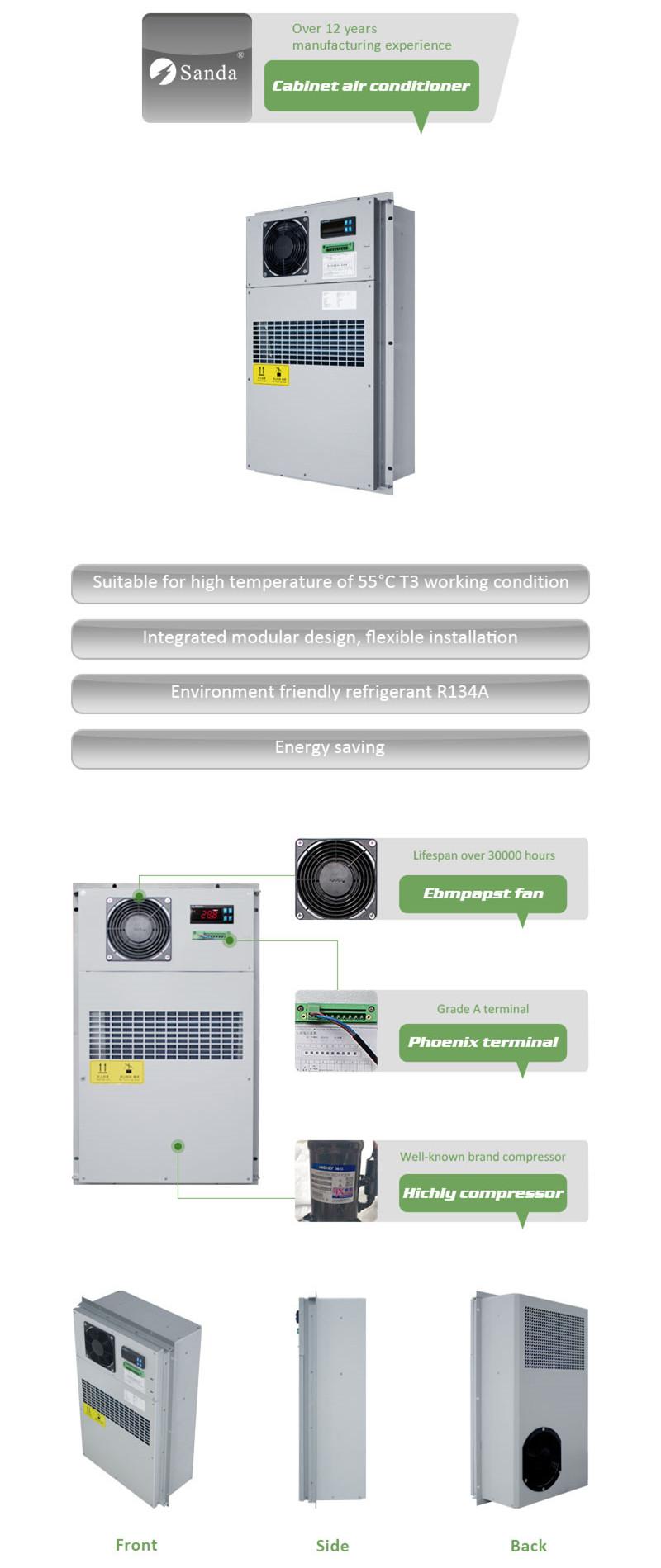 Incredible Sanda Telecom Cabinet Air Conditioner Sdca 020Ea Outdoor Air Interior Design Ideas Gentotthenellocom