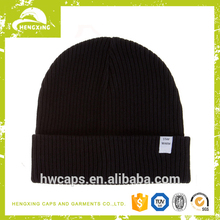Fashion skull custom free knitted beanie hat/cap pattern