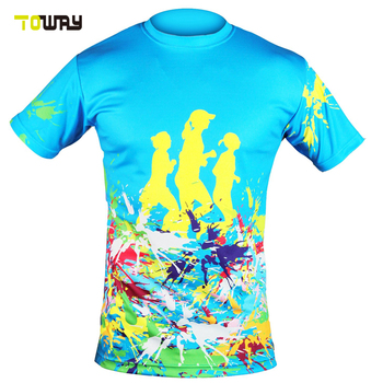 Sublimated custom dri fit running t shirt buy running for Custom dri fit t shirts