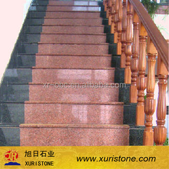 India Red Color Granite Stairs Tile,Steps Tile,Flooring Tile - Buy Granite  Stairs Tile,Granite Tiles And Stairs,Cheap Granite Tile Product on