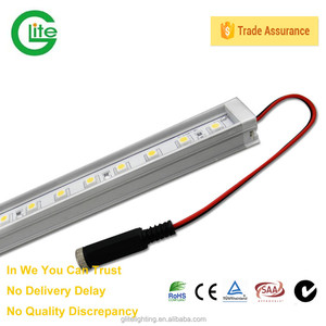 Led Rigid Bar stirip /led aluminum profile strip/3528 60leds/m waterproof