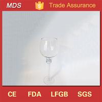 Wedding glassware wine glass shape candle holder centerpiece
