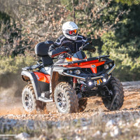 4 wheeler atv 500cc EFI 4x4 CVT cheap chinese quad bike prices