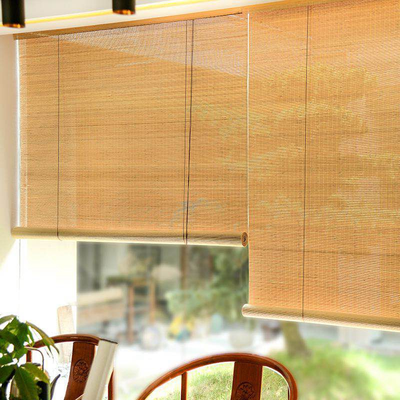Hafei Chinese Style Blackout Roller Blinds Windows curtains Shutters bamboo blinds