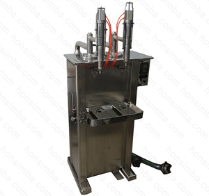 1000-5000ml two nozzles CE ISO glue water gum water mucilage size water filling machine