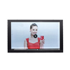 22 inch Interactive LCD Advertising Transparent LCD Showcase