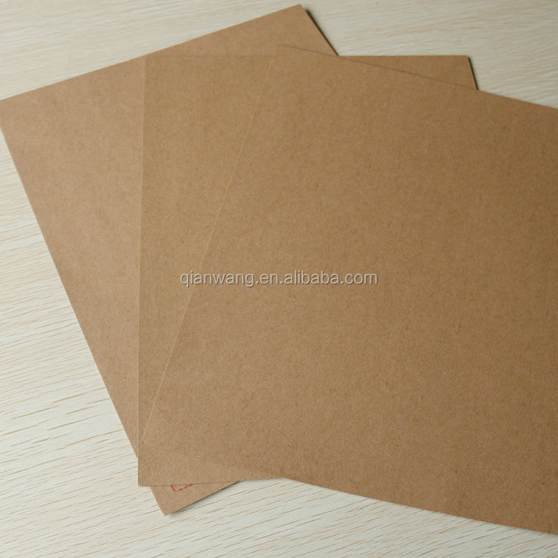 Brown kraft paper sheets/craft paper sheets wholesale(100g/110g/120g)