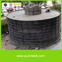 Biogas electricity generation plant for farms