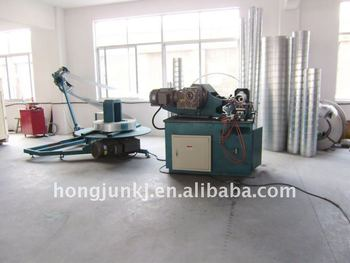 Rectangular ducting machine