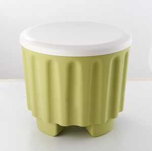 Stackable table shoe kids chair plastic storage box/stool