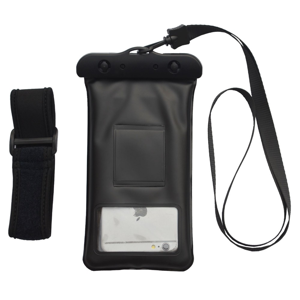 Waterproof Floating Phone Case Dry Pouch Bag with Lanyard for iPhone Samsung