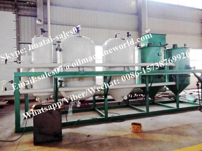 2017 Factory Supplying Sesame Oil Making Machine Price from Huatai Largest Company