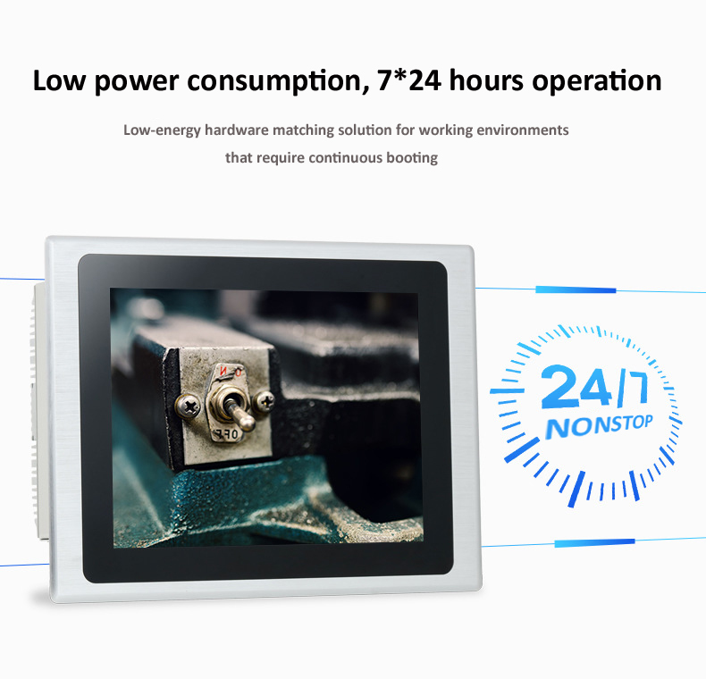 12 inch J1900 industrial touch panel computer mini computer fanless all in one pc