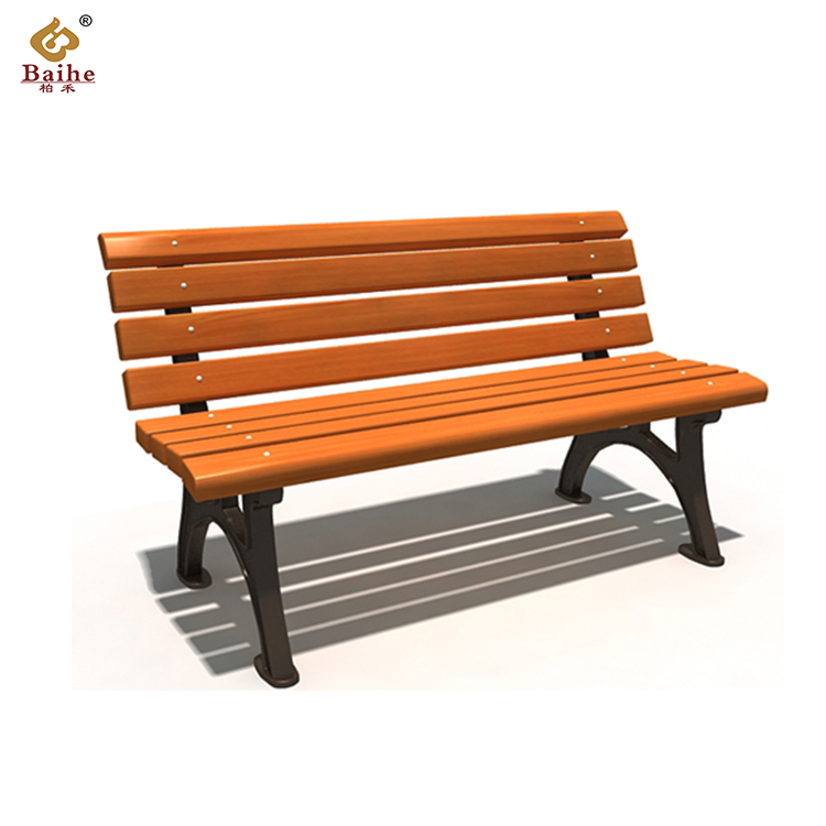 Wooden Garden Benches B Q: Cast Iron And Wooden Garden Bench Bh19504