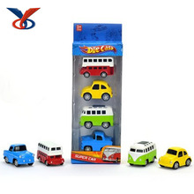 Lovely cartoon pull back alloy car toy