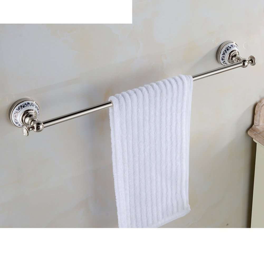 Cheap white ceramic towel bar find white ceramic towel bar deals get quotations copper blue and white porcelain rodtowel racktowel bar gold plated dailygadgetfo Image collections