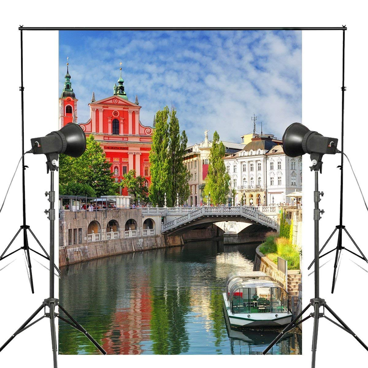 ERTIANANG 150x220cm Exquisite Photography Background Paris Urban Town Life Photo Studio Props Wall