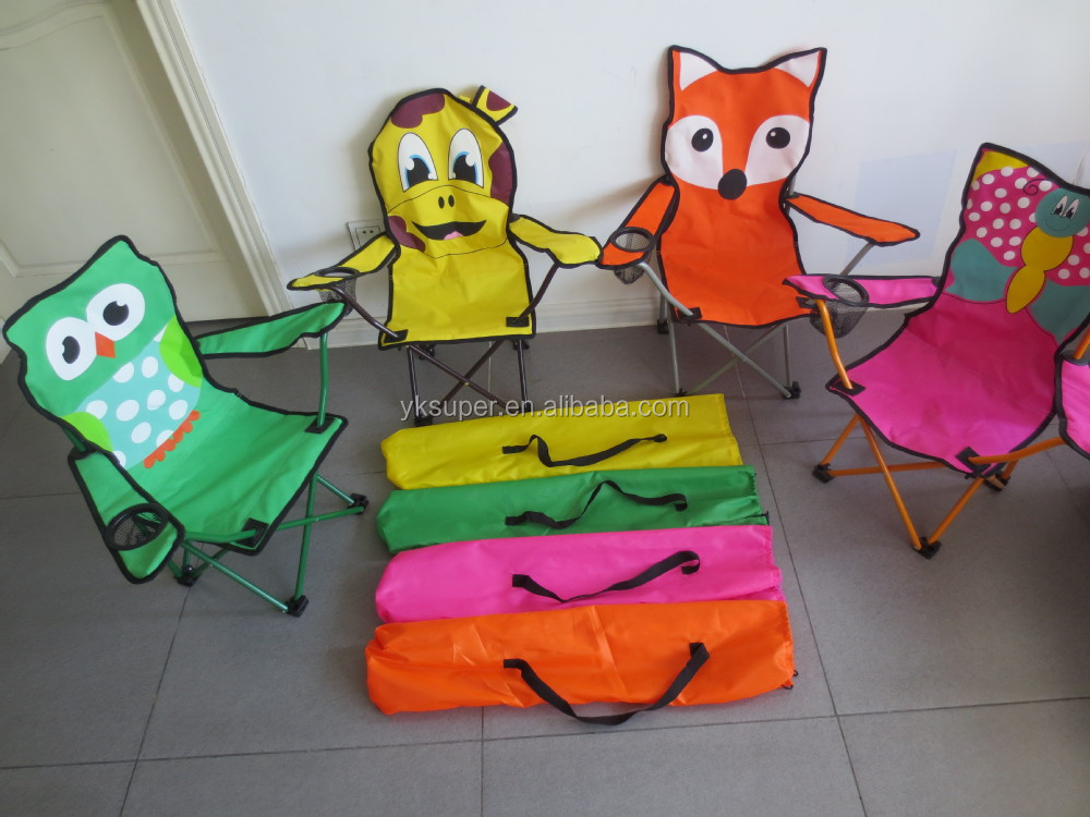 High Quality Outdoor Cute Animal Double Camping Chair For