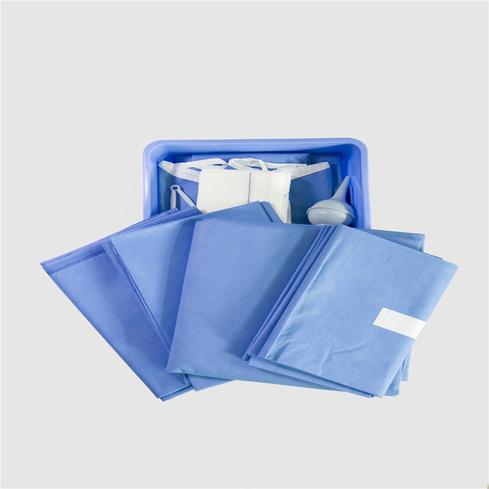 Sterile Surgical Procedure Drape Pack Disposable Surgical Package