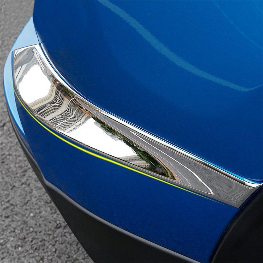 1Pcs Car Rear Bumper ABS Chrome Protector Guard For Toyota Rav4 RAV-4 2013-2015