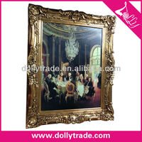 European Style Classic Wooden Oil Painting Frame/Picture Frame