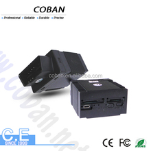 Coban obd ii gps tracker gps306 for vehicles with web platform and phone APP tracking