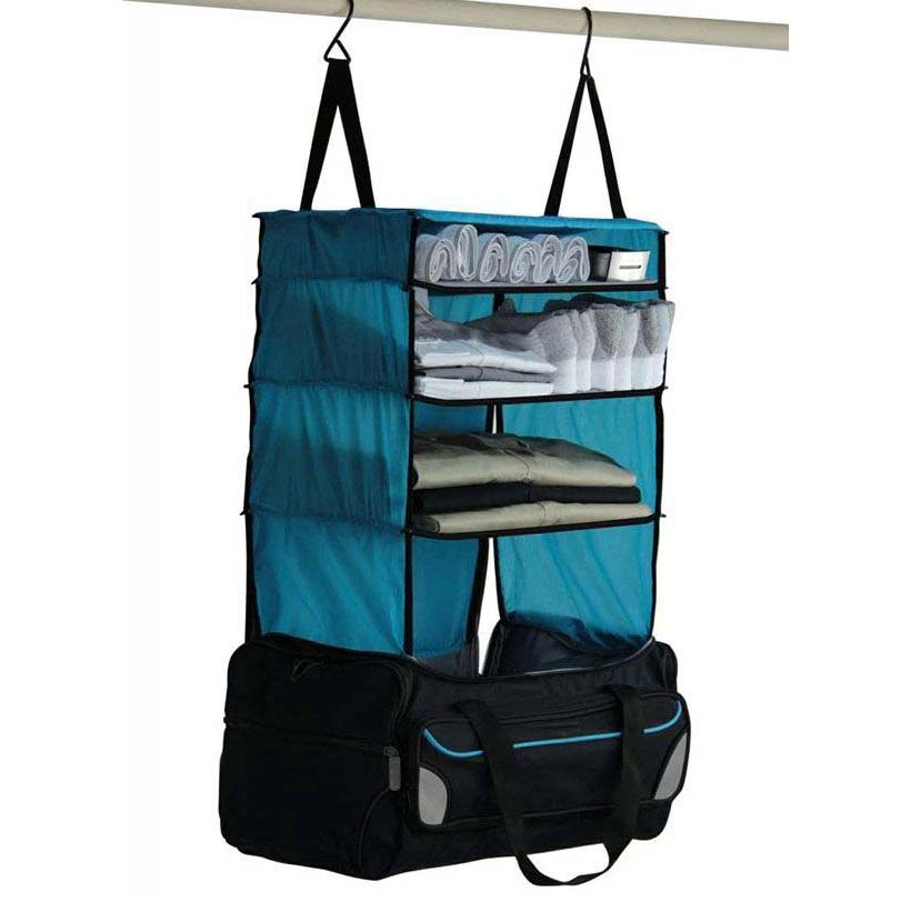 Portable Shelving Hanging Luggage <strong>Travel</strong>, Rise Gear Weekender <strong>Travel</strong> Bag,Hanging Closet Organizer With Hook