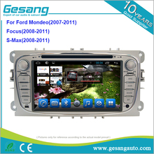 Android 6.0 System car dvd player for Ford Mondeo/Focus/S-Max with 4G connection with 4G SIM card and make calling directly