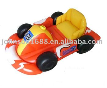 pvc inflatable kids toy car inflatable kart car toys