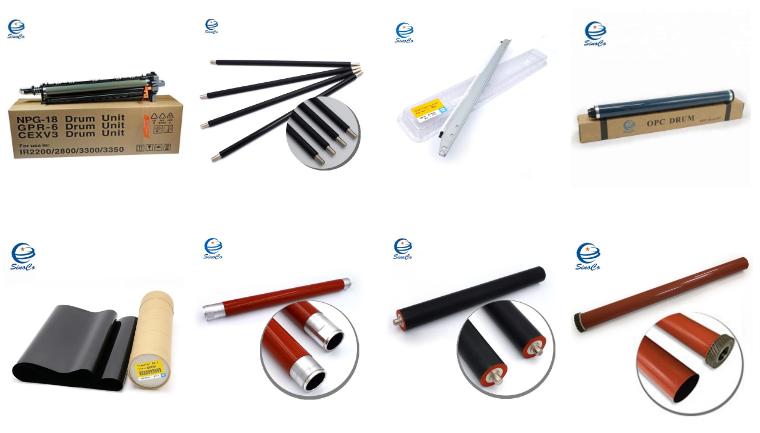 Bizhub C224 Fuser Sponge Roller Asli Kompatibel untuk Bizhub C284 C364 C454 C220 C280 C360