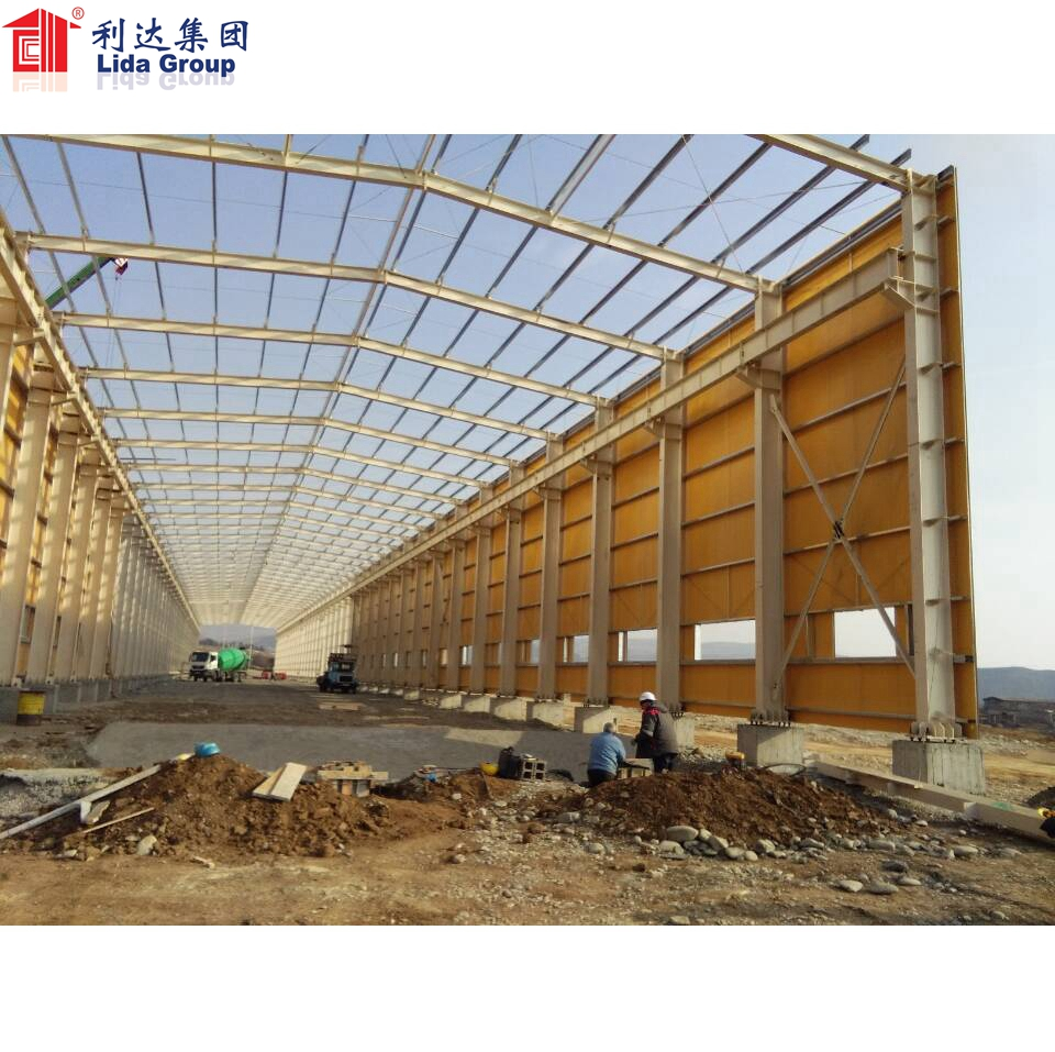 Building Complete Steel Structure Buildings Including Walls