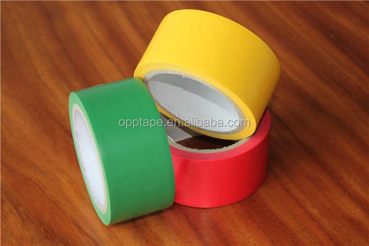 "Hot sale 2"" red rubber adhesive PVC Electrical insulating tape for Wire wrap"