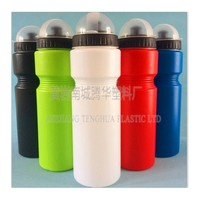 750ml custom Portable outdoor plastic squeezing Plastic Drinking Water Bottle sport water bottles