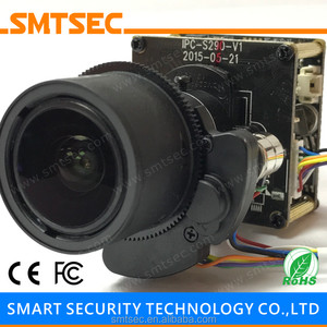 2MP 1080P SONY IMX291 Sensor Hi3516D PCB Board Starlight H 265 IP Camera  Module with 6-22 mm Motorized Zoom Auto Focus Lens