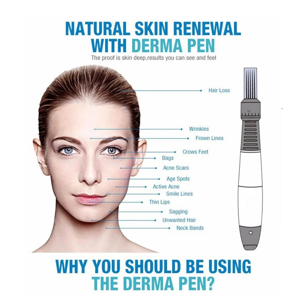 Professional Micro needle electric derma pen ultima dr pen a6