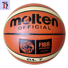 pallacanestro basquet professional Synthetic PU Leather 12 Panels Laminated Molten brand GG7 GL7 GG7X basketball ball