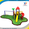 2016 Guang Zhou Factory Kids Plastic Slide Outdoor Playground