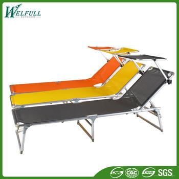 Modern Folding Beach Sun Shade Cheap Chaise Lounge Chair