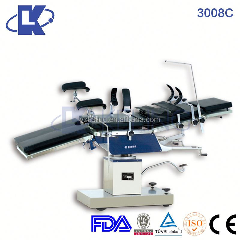 3008C stainless steel pelvic exam table gynecological operating table electric surgical tables